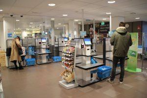 Zelfscan AH Utrecht, onderdeel van Konincks Retail